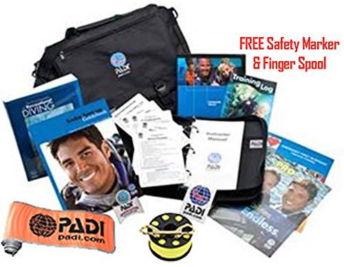 PADI Deluxe Divemaster Crew-Pak Scuba Diving Certification & -
