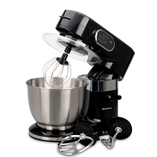 Excelvan Food Stand Mixer 1000W 3-in-1 Beater/Whisk/Dough Hook with 5.5L...