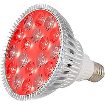 Amazon Com Sgrow 24w Red Led Light Red 660nm And Near