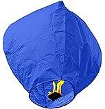 SKY LANTERNS 14 Pack - Assorted Colors (14 BLUE)