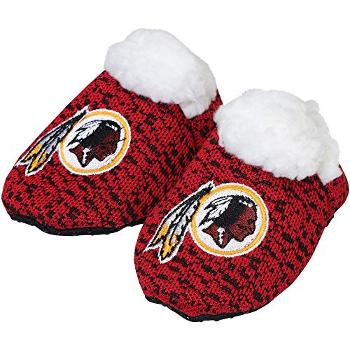 Forever Collectibles FOCO NFL Infant Knit Baby Bootie Shoe (Washington Redskins, X-Large (12-24M)) ()