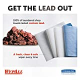Wypall X60 Reusable Cloths (34965), Blue, Jumbo