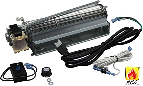 Vicool Standard Sized BLOT Replacement Fireplace Blower Fan KIT for Monessen, Hearth Systems, Martin, Majestic, Hunter by Vicool
