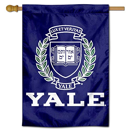 Yale Bulldogs University College House Flag for sale  Delivered anywhere in USA
