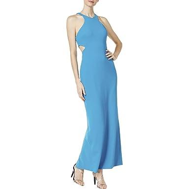 Calvin Klein Womens Cut Out Sleeveless Evening Dress At Amazon