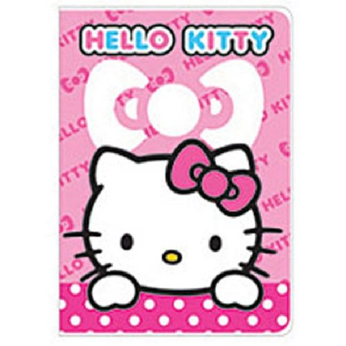 Hello Kitty Pink White Bow Passport Cover Holder ~ No more bent corners during travel