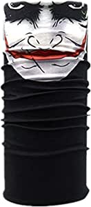 Magic Scarf Skeleton Skull Flag Seamless,Face Mask,fishing Mask,Thin Ski Mask,Neck Warmer for Dust, Riding Bike,Motorcycle,Outdoor Activities