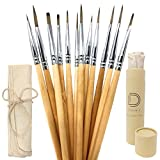 Best Glue Set With Cases - Watercolor Paint Brushes - Detail Artist Brush Set Review