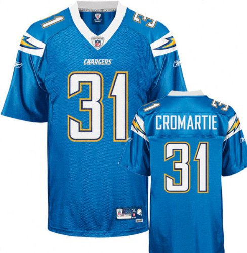 San Diego Chargers NFL Mens Team Replica Jersey, Blue (4X-Large) ()