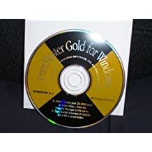 Printmaster Gold Classic for Windows 3.1 or Higher