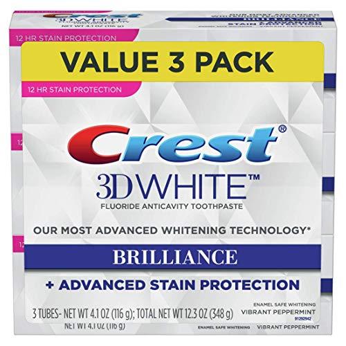 Crest Toothpaste 3D White Brilliance Vibrant