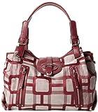 Nine West 60294833-RJ4 Top Handle Bag,Autumn Rust,One Size, Bags Central