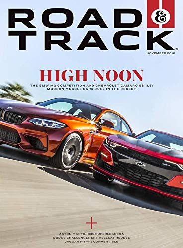 Car And Driver Magazine - Road & Track