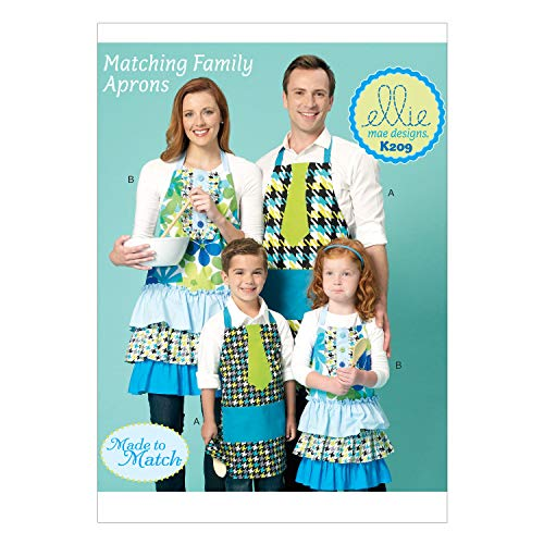 - KWIK-SEW PATTERNS K0209 Adults'/Kids' Aprons, All Sizes
