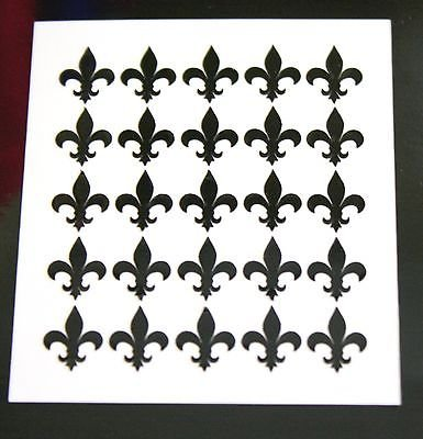 Fleur De Lis Fingernail Art Decal Stickers Nail Vinyls 100 - Decal Wall Fleur