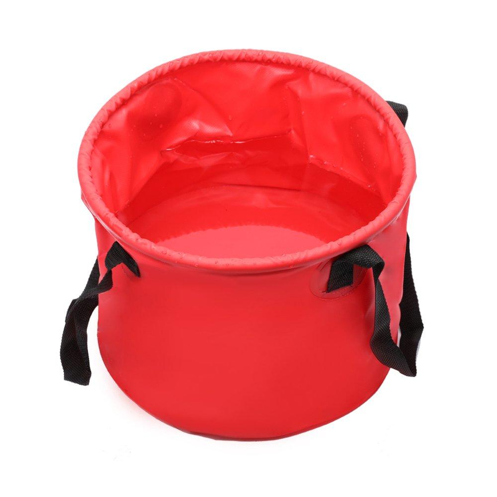 10L Foldable Square Bucket Portable Folding Basket Premium Mop Car Wash Collapsible Bucket