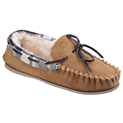 Pantofole Tan Donna Mocassino Cotswold Kilkenny Tipo TB1Rqxznw7