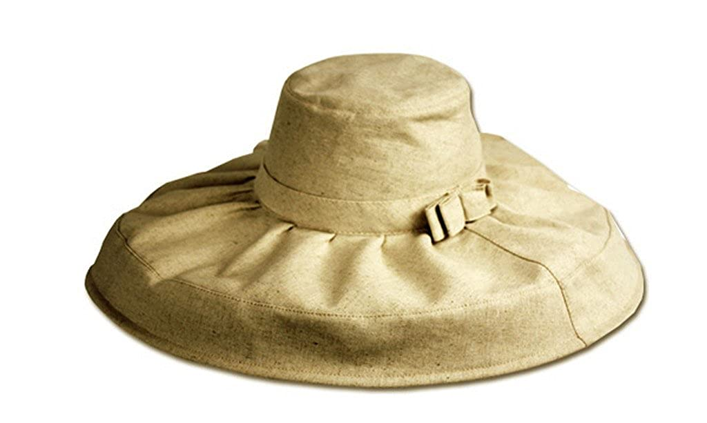 Sakkas 6041LF Natural Cotton Floppy Hat - Natural - One Size at Amazon  Women s Clothing store  ff4cc8469b8