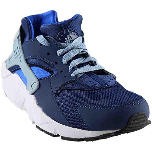 Nike Huarache Run Coastal Blue/Blue Grey (Big Kid) (5 M US Big Kid) by NIKE