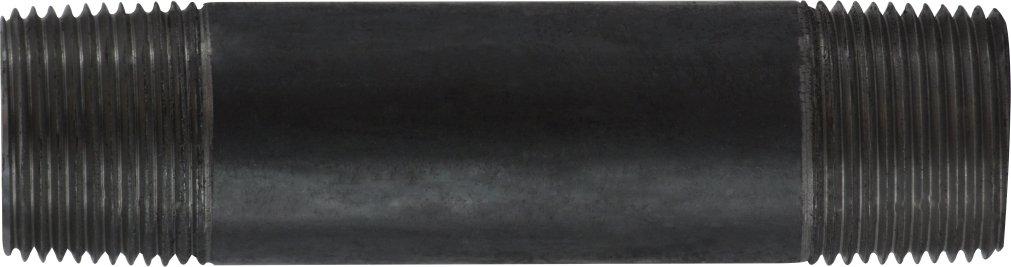 Steel Midland 57-262 Black Steel Nipple 1 Diameter Pack of 3 1 OD 1 Diameter 30 Length 1 OD Midland Metal SCH 40 Welded 30 Length
