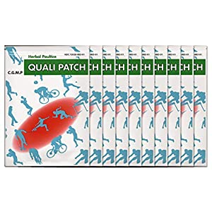 Quali Patch - Quali Herbal Poultice Pain Relief Patch - 10 Pack - 3 Sheets Per Pack