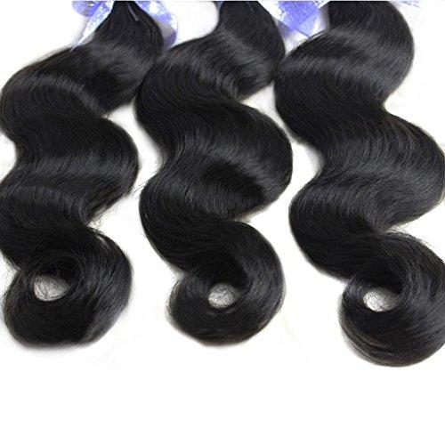 Vedar Beauty Women's Unprocessed 6A Peruvian Virgin Hair Body Wave Human Hair Mix Length 3Pcs Lot 12Inch 14Inch 16Inch
