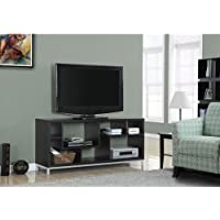 Monarch Specialties TV Stand, 60, Cappuccino