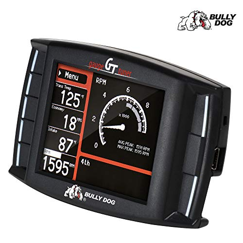 Truck Gas Mileage - Bully Dog - 40417 - GT Platinum Gas Diagnostic and Performance Tuner with 4-Preloaded Tunes