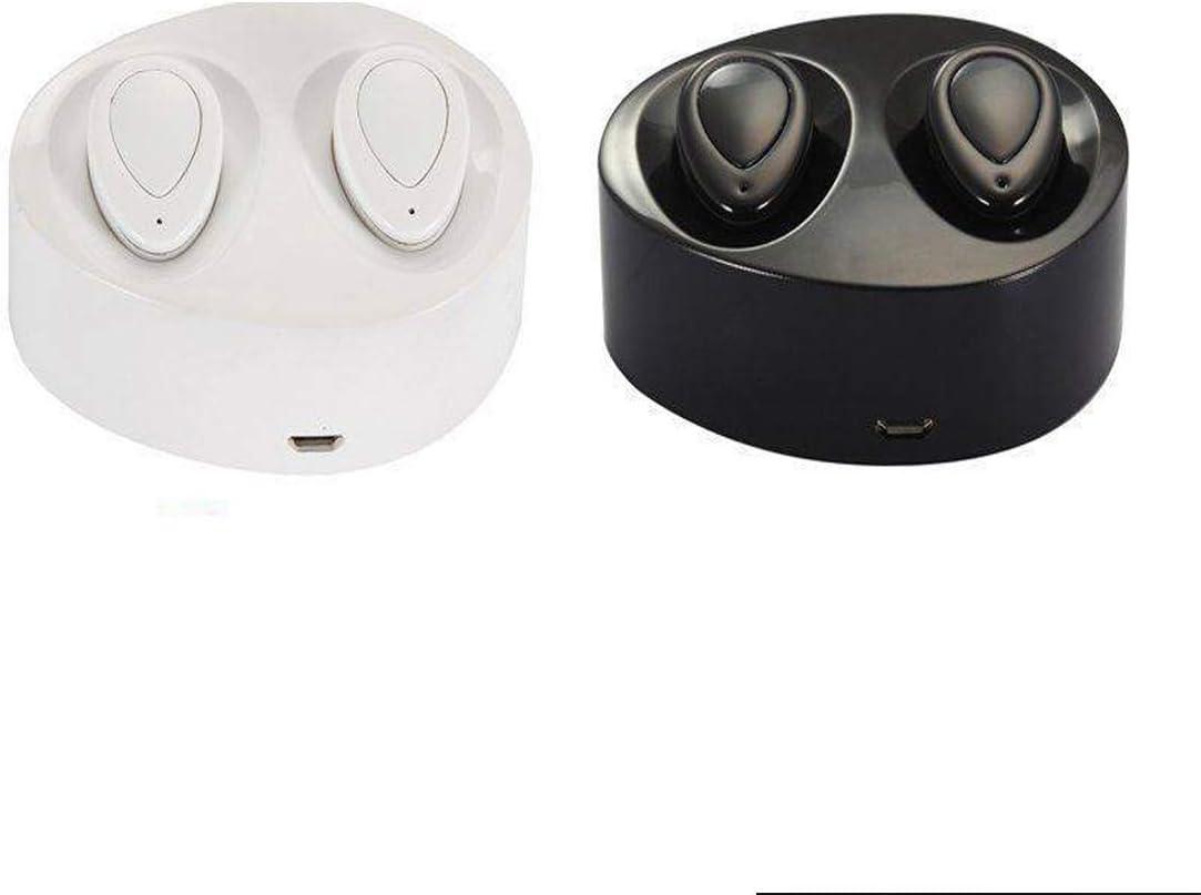 Candora Wireless TWS Mini True Bluetooth Twins Stereo In-Ear Auriculares Auriculares Auriculares estéreo (blanco)