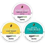 AmazonFresh 60颗 K-Cups咖啡 包装不同, 3 种口味, Keurig 咖啡机兼容