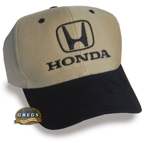 Bundle with Driving Style Decal Greg/'s Automotive 1001BT Gregs Automotive Honda Hat Cap in Black//Khaki