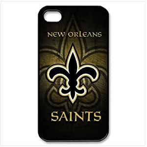 NFL New Orleans Saints Christmas Gift iPhone 4 4S Best Durable Cover Case