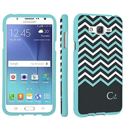 Galaxy J7 (J700) Case, DuroCase Hard Case Mint for Samsung Galaxy J7 SM-J700 / J700 / J700M / J700T / SPHJ700 (2016 USA Models & 2015 International models)- (Black Mint - Tiffany In Usa