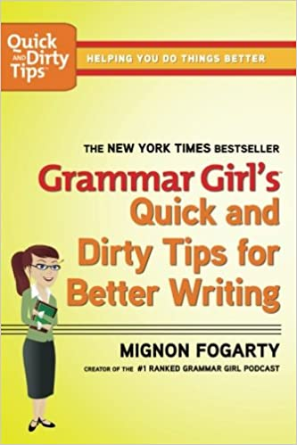 Amazon grammar girls quick and dirty tips for better writing grammar girls quick and dirty tips for better writing quick dirty tips 1st edition fandeluxe Choice Image