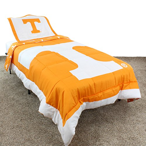 College Covers Tennessee Volunteers Reversible Comforter Set - Twin