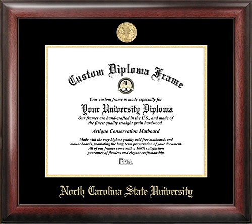 Photo State Nc - NCSU NC State Wolfpack Home Office Diploma Picture Frame