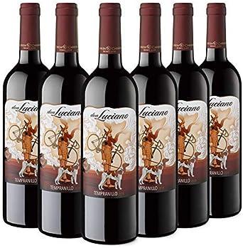 Don Luciano Tempranillo, Vino Tinto D.O La Mancha - Pack de 6 ...