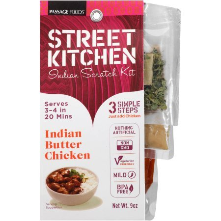 Street Kitchen Kit (Indian Butter Chicken Indian Scratch Kit, 9 - Streets Indian