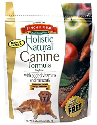 Bench & Field Dog Food Holistic