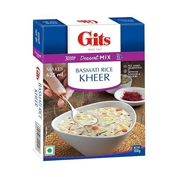 Gits Instant Rice Kheer Dessert Mix, 100g