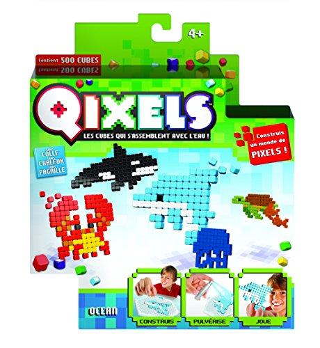 Kanaï Kids - KK87014 - Mini Kit 4 Créations Qixels - Thème Océan - Saison 3