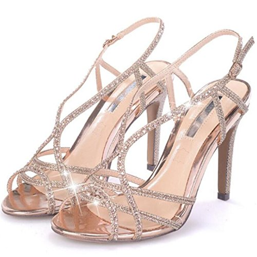 Sandalias Gold Women Woman Strappy Silver Strap Sandals Sandals Heel High Ankle Shoes Robert Westbrook Sandals OqHwBPp