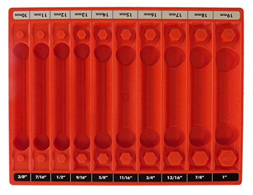 Tool Sorter Socket Organizer Red product image