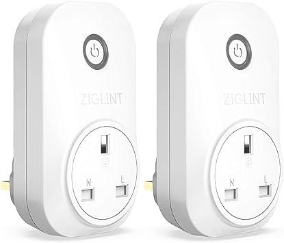 WIFI smart Steckdose Plug work with ALEXA/& Google Home,Timer //Energy Monitoring