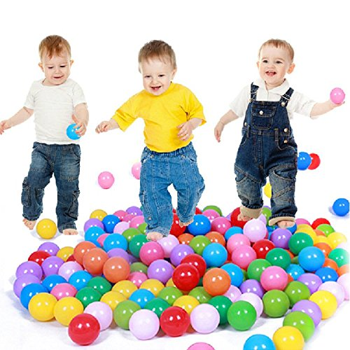 CAIJ 5000PCS Colorful Plastic Ball Pit Balls Tent Swim Toys Ball Pool Ball Ocean Ball for Baby Child Infant by CAIJ
