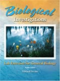 Biological Investigations : Lab Exercises for General Biology, Devine, Edward, 0757532322