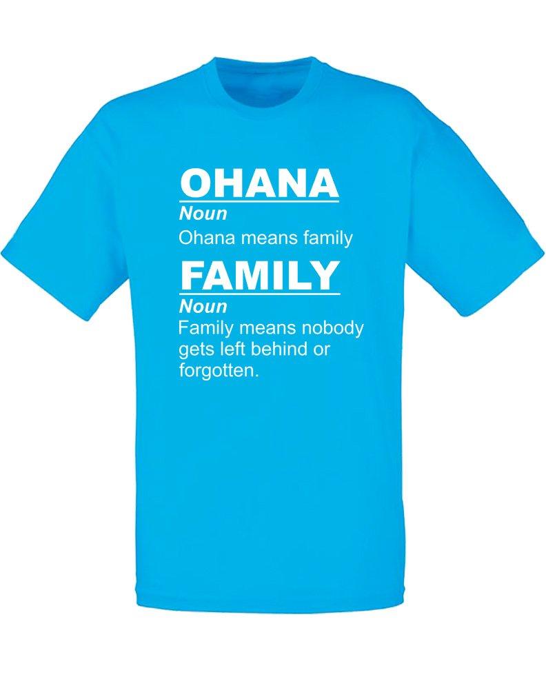 Ohana Means Family S Printed T Shirt 2018