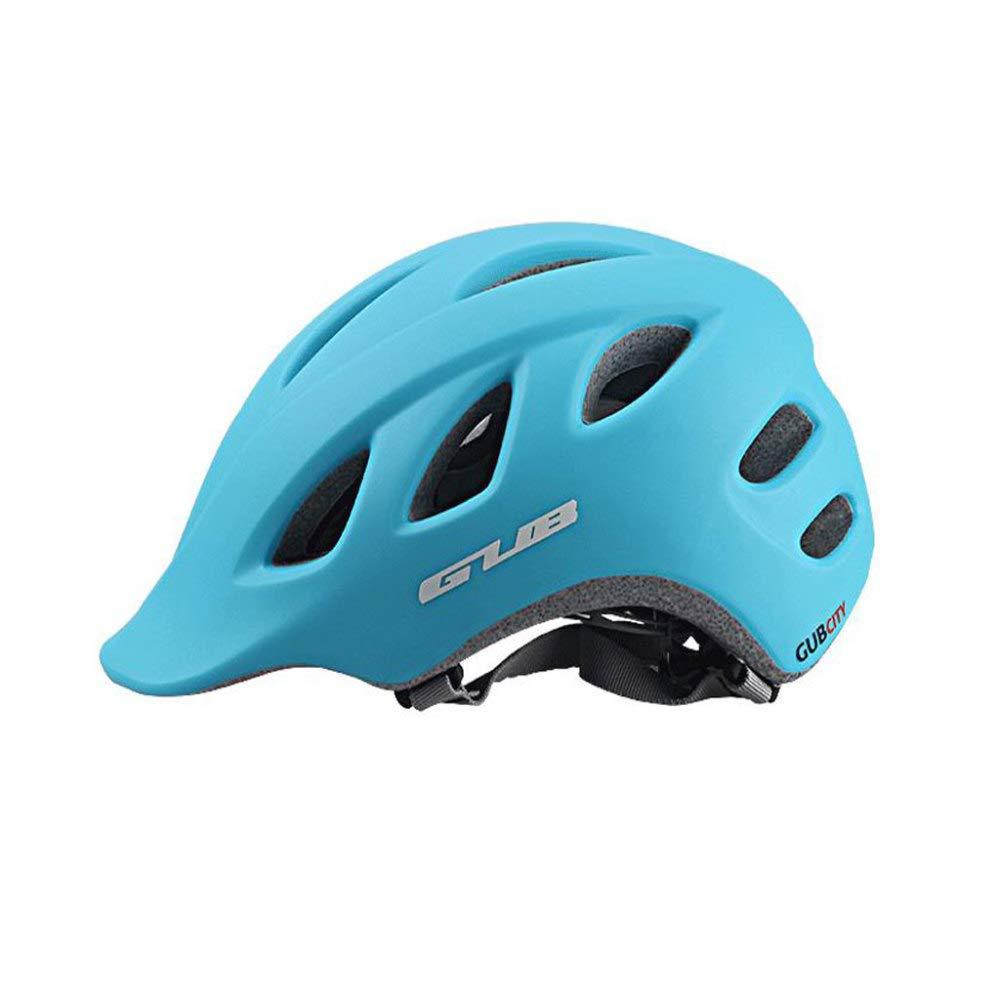 HELMET Fahrradhelm 18 Vents Verstellbarer Komfort Atmungsaktiv Schutzhelm Outdoor Sports Radfahren,Blau