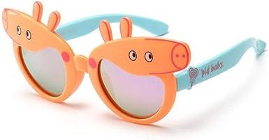 ERTMJ Gafas De Sol Redondas Para Niños Niño Y Niña Gafas De