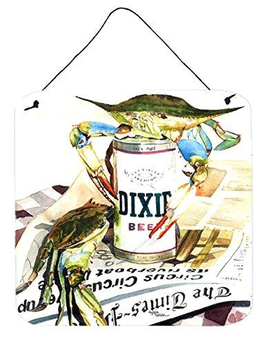 Caroline's Treasures Dixie Beer Aluminum Metal Wall or Door Hanging Prints, 6 x 6, Multicolor